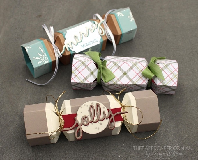 DIY Christmas crackers tutorial