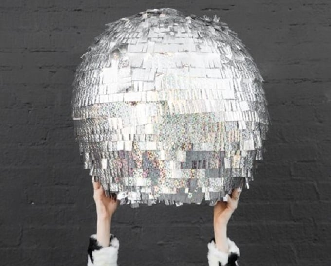 disco ball piñata