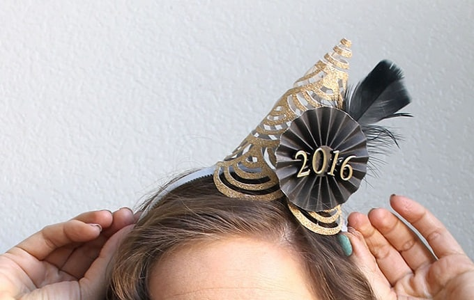 NYE inspired head attire
