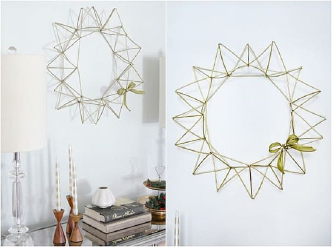 himmeli wreath
