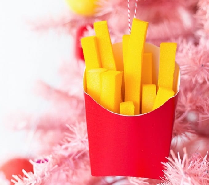 french fry ornament