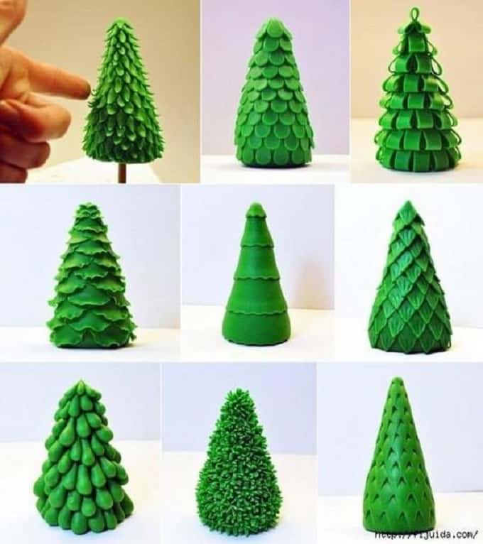 Christmas tree molds