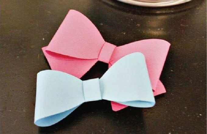 gender reveal bows