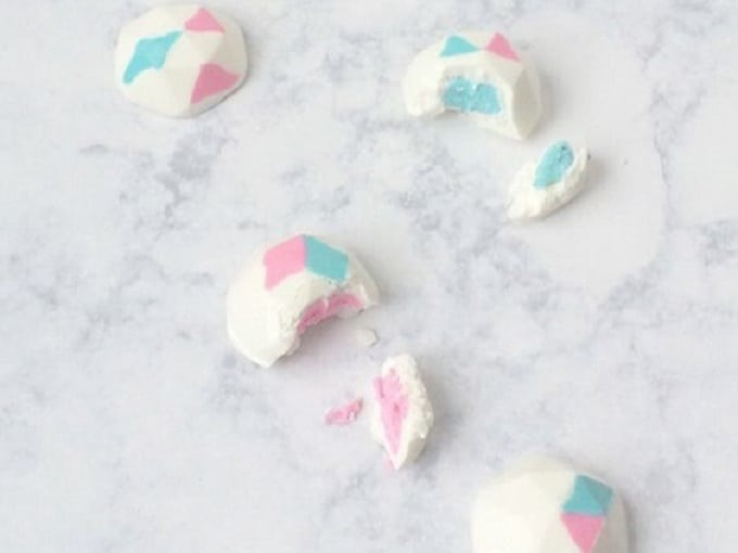 gender reveal truffles