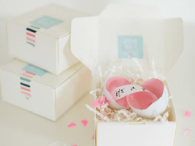 gender reveal egg packages