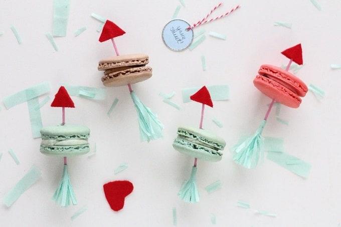 Valentine's Day arrow cookies