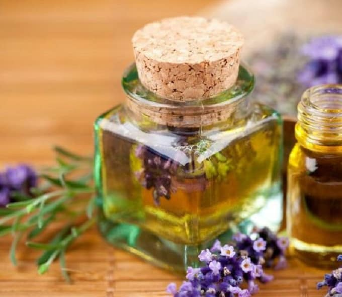 DIY essential oil perfume
