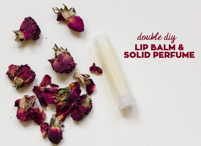 lip balm and solid perfume