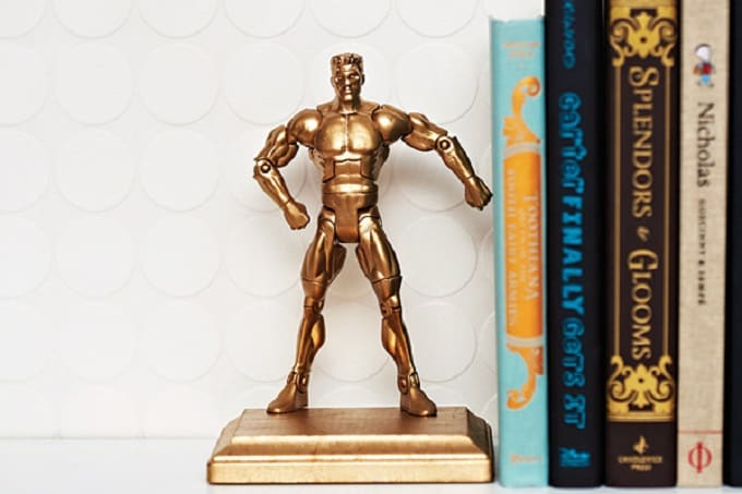 old toy bookends