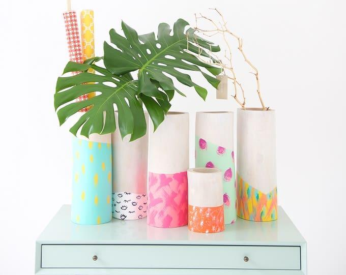 West Elm flower vases