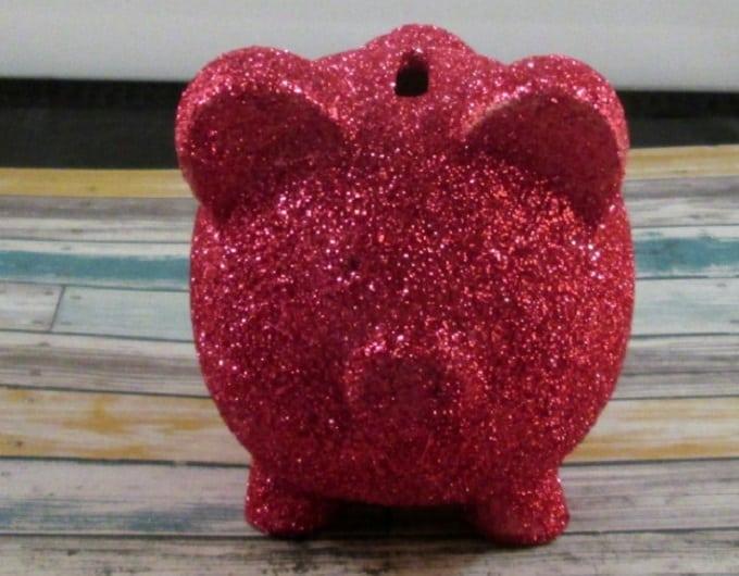 dollar store piggy bank
