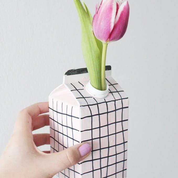 upcycling diy vase