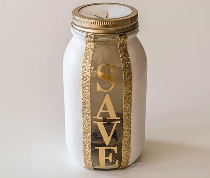 DIY save jar