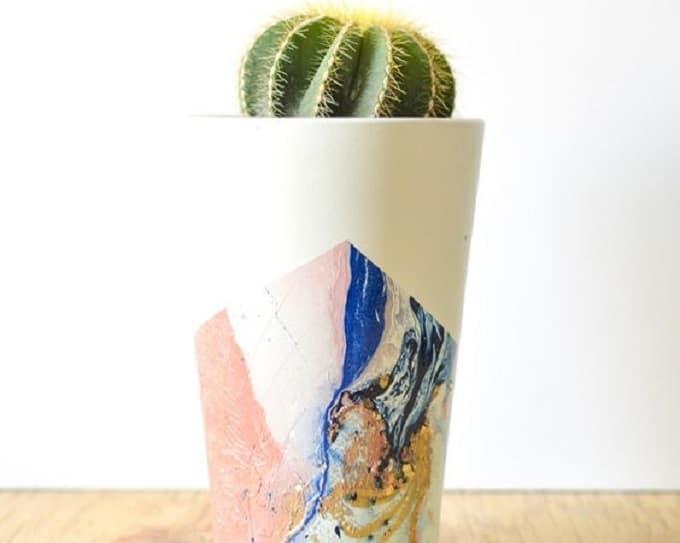 DIY flower vase