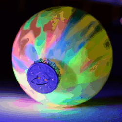 DIY Glowing Ornaments