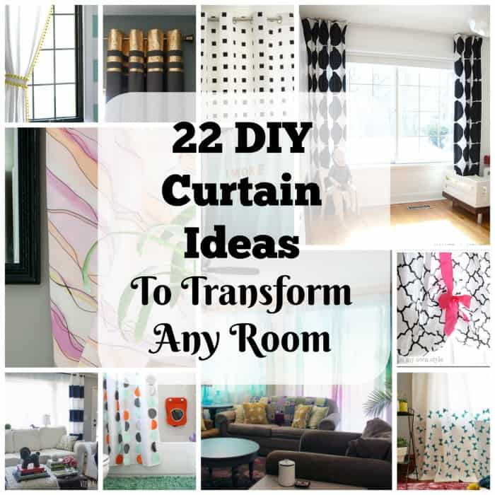 22 Elegant and Simple DIY Curtain Ideas That Will ...