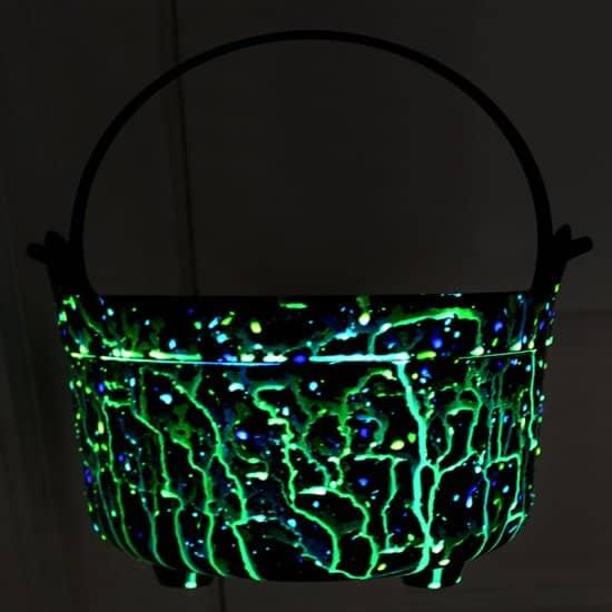 Glow-In-The-Dark Halloween Pail