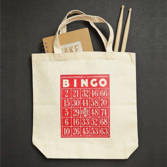 DIY Bingo Tote