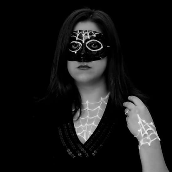 Glow In The Dark Costume Mask
