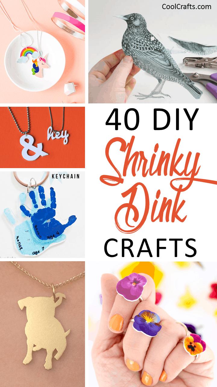 40 DIY Shrinky Dink Plastic Craft Ideas. | Coolcrafts.com