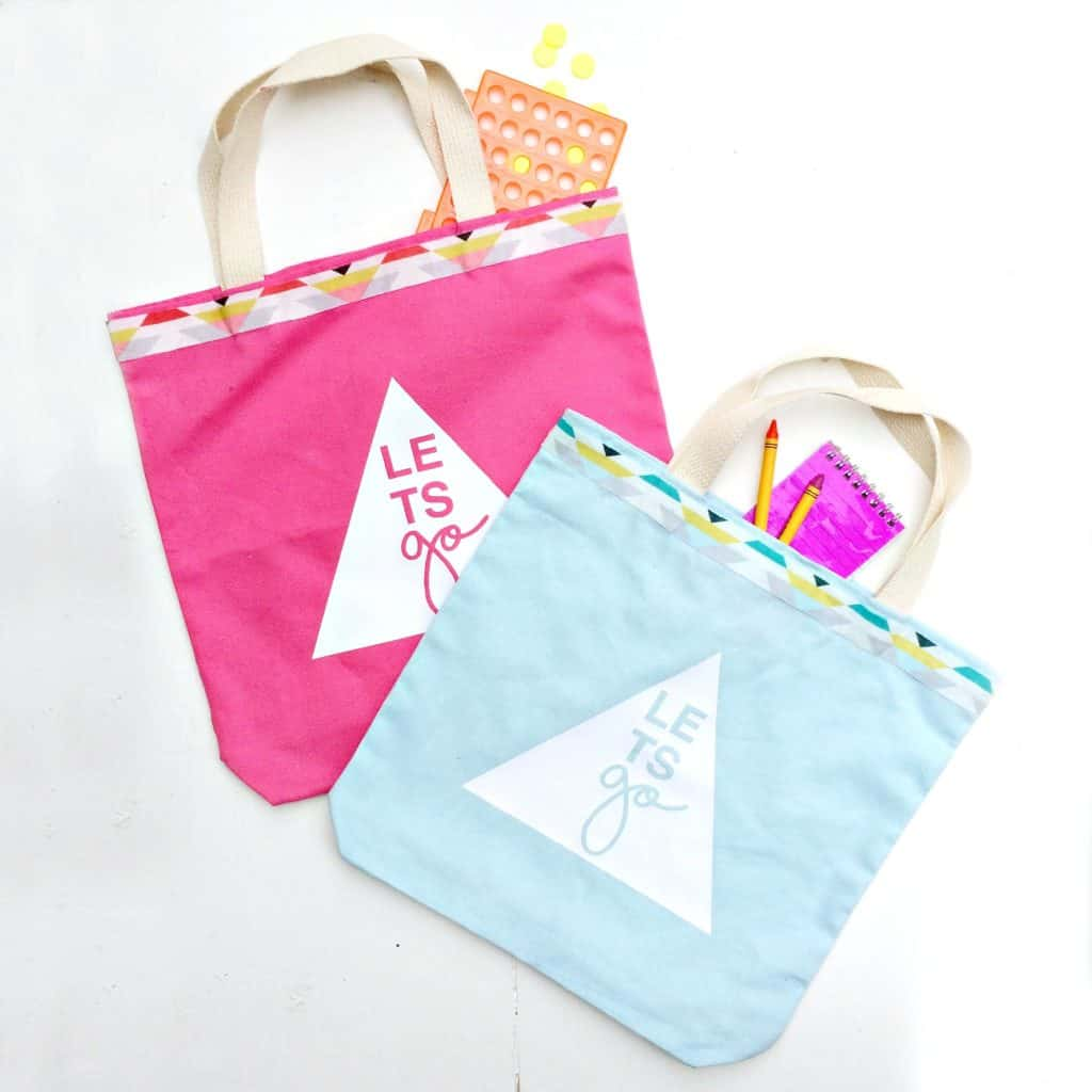 DIY Road Trip Activity Totes