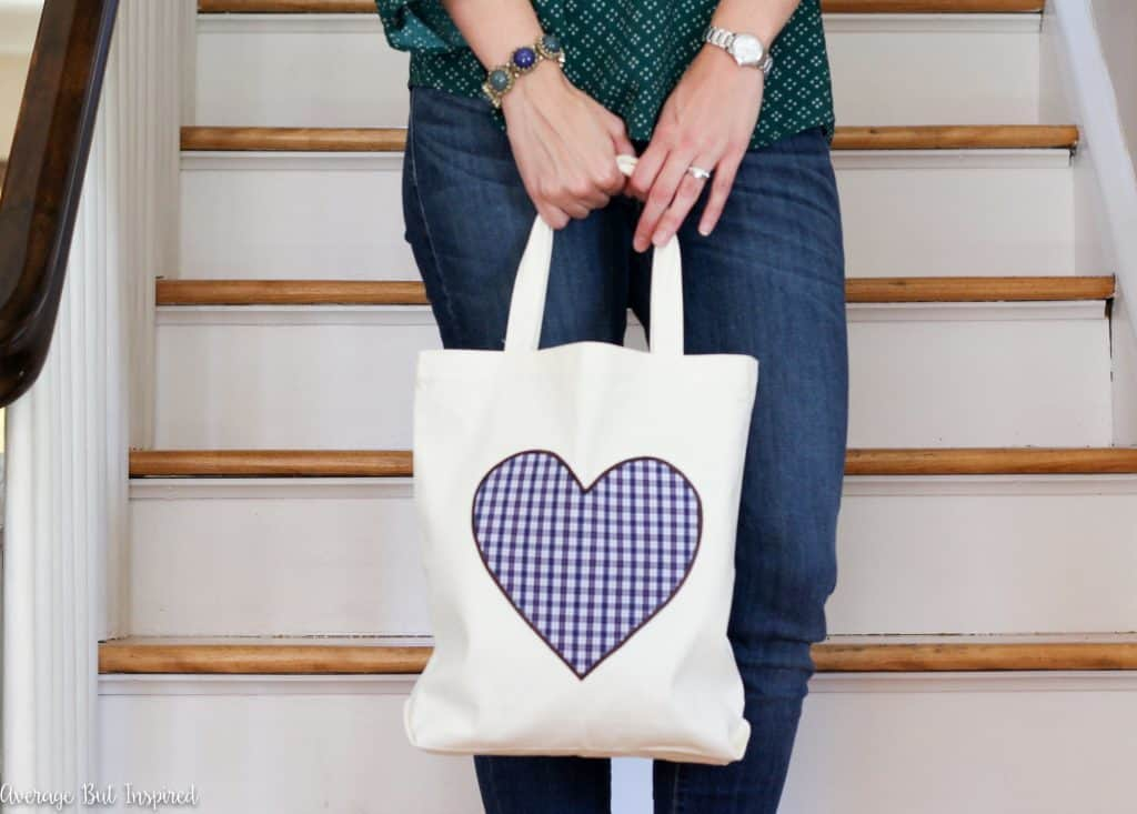 No-Sew Upcycled Shirt Tote Bag