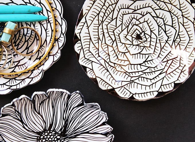 shrinky dink ring dishes