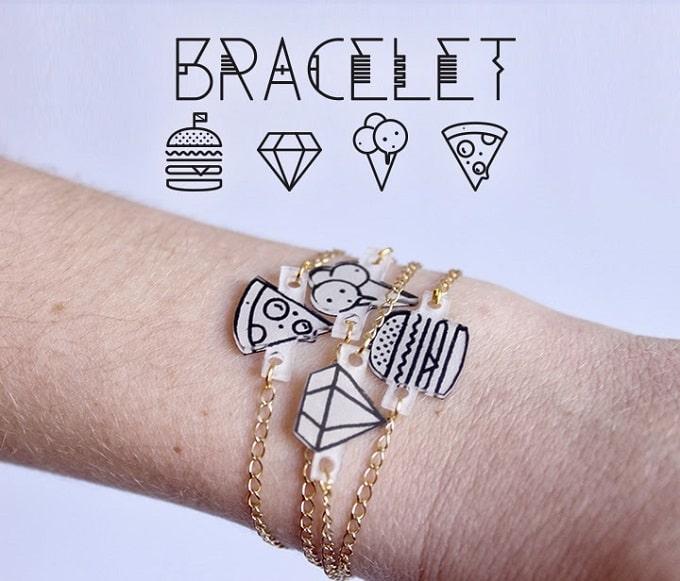 shrinky dink pendant bracelets?