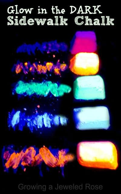 Glow In The Dark Sidewalk Chalk