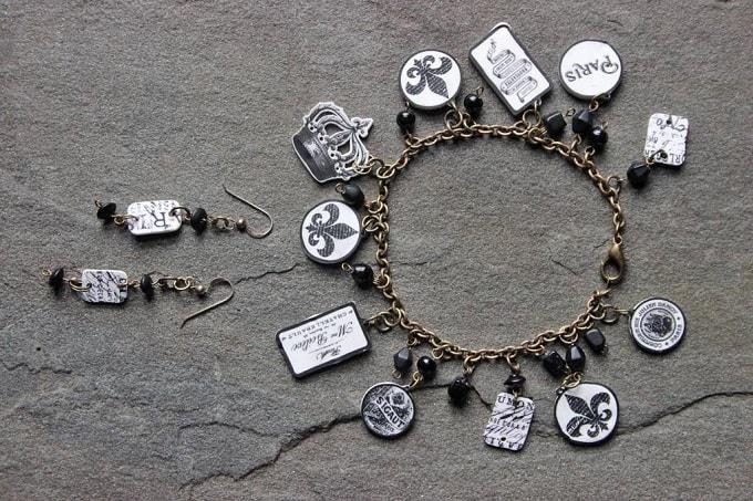 Paris inspired jewelry