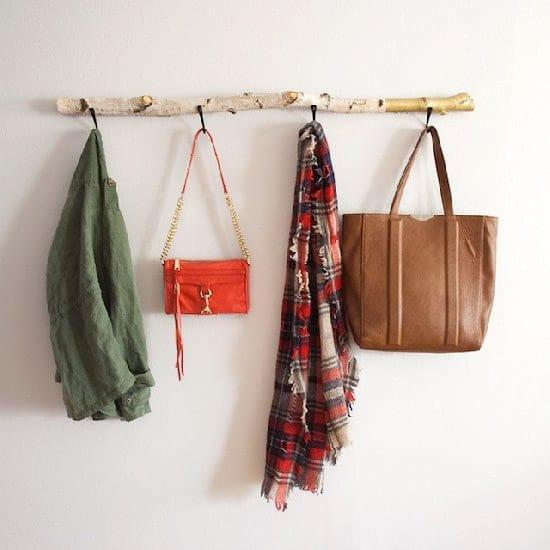 Driftwood Wall Rack