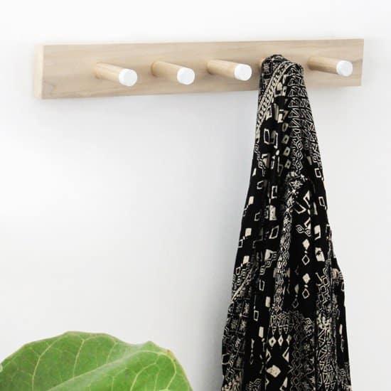 Wood Coat Rack