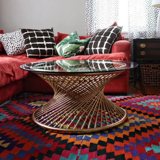 $25 Spirograph Coffee Table