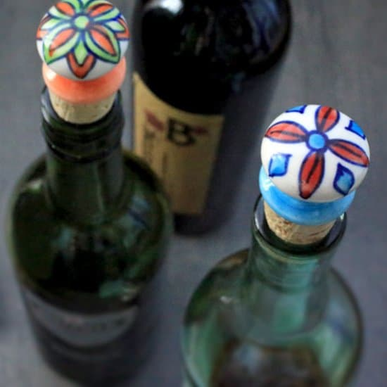 Decorative Wine Bottle Stoppers Delectable 21 Festive Diy Wine Bottle Stoppers  Cool Crafts Design Inspiration
