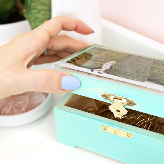 Epoxy Jewelry Box