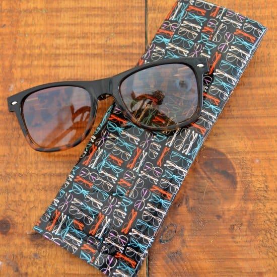 Duct Tape Sunglasses Case