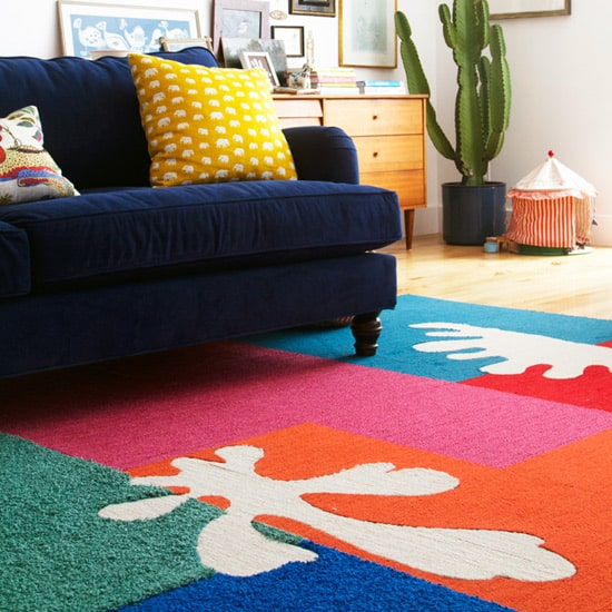 Matisse Inspired Cut Out Rug