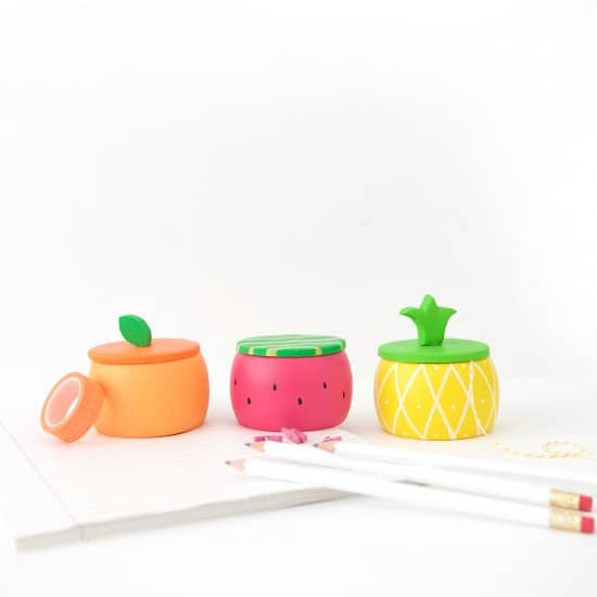 Fruity Wooden Trinket Boxes