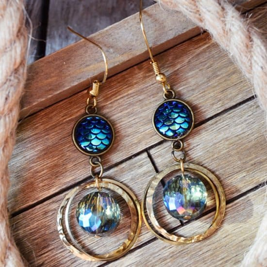 Mermaid Boho Earrings