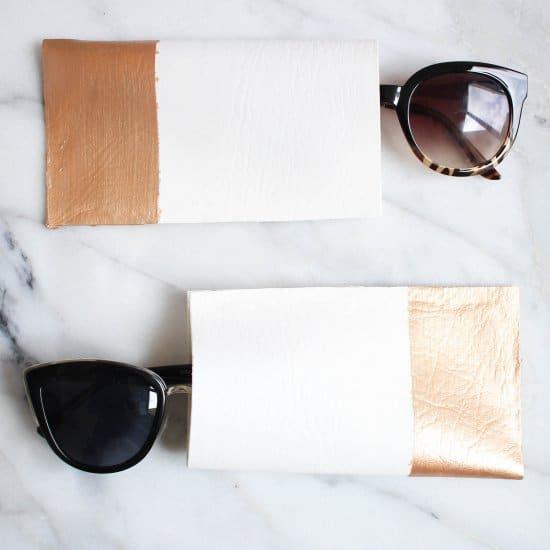 DIY No-Sew Sunglass Case