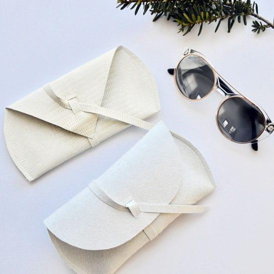 Faux Leather DIY Sunglasses Case