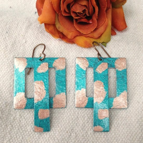 DIY Metal Earrings