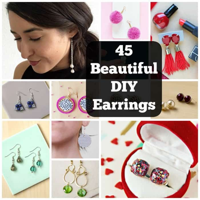 How to Make Your Own Earrings: 45 Eye Catching DIY Earrings Designs. | Coolcrafts.com