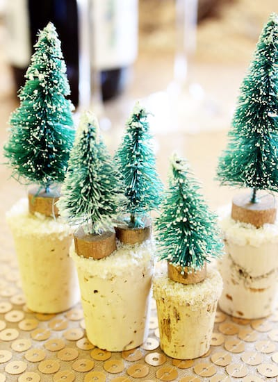 Snowy Tree Wine Stoppers