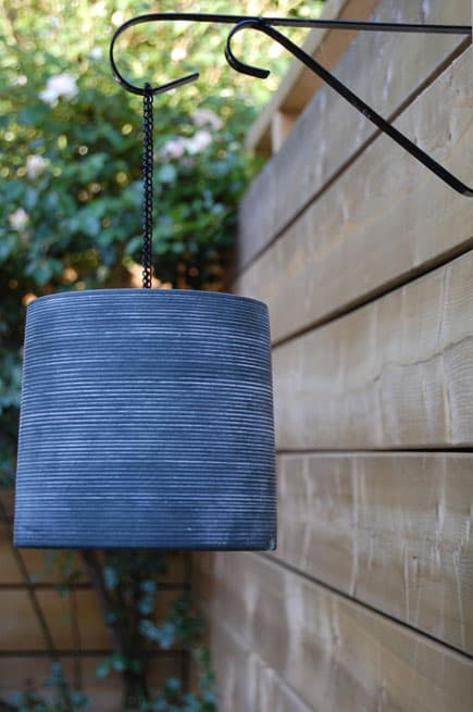 DIY Terra Cotta Lantern