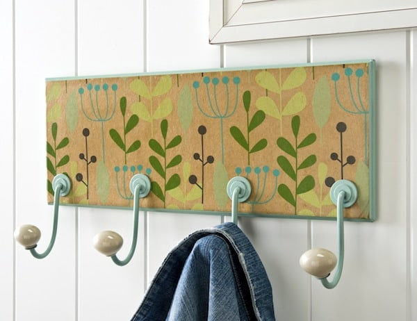 Wrapping Paper Coat Hanger
