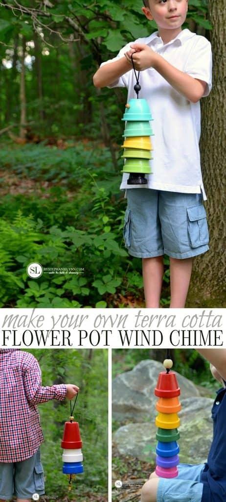 Terra Cotta Wind Chime