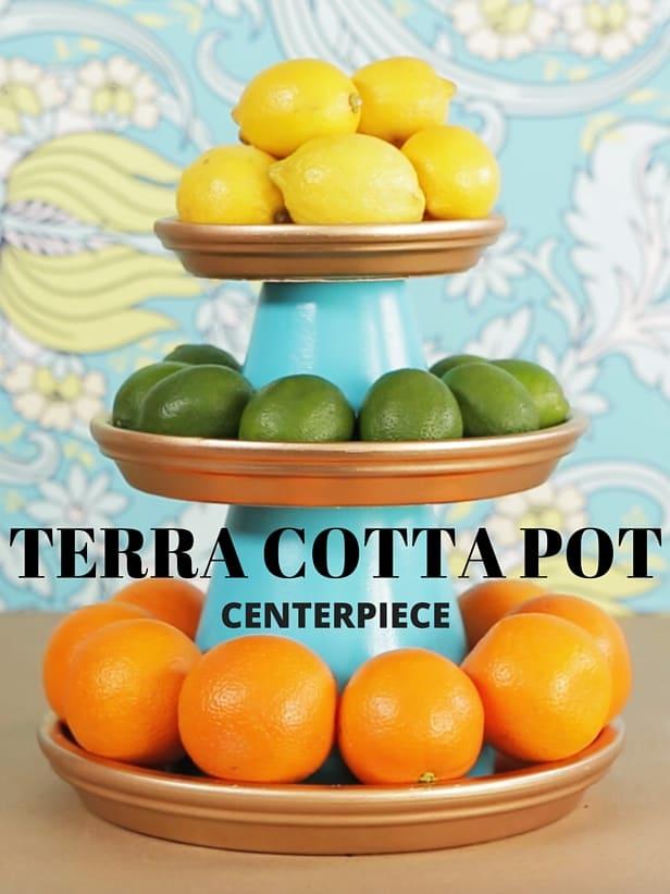 Terra Cotta Center Piece