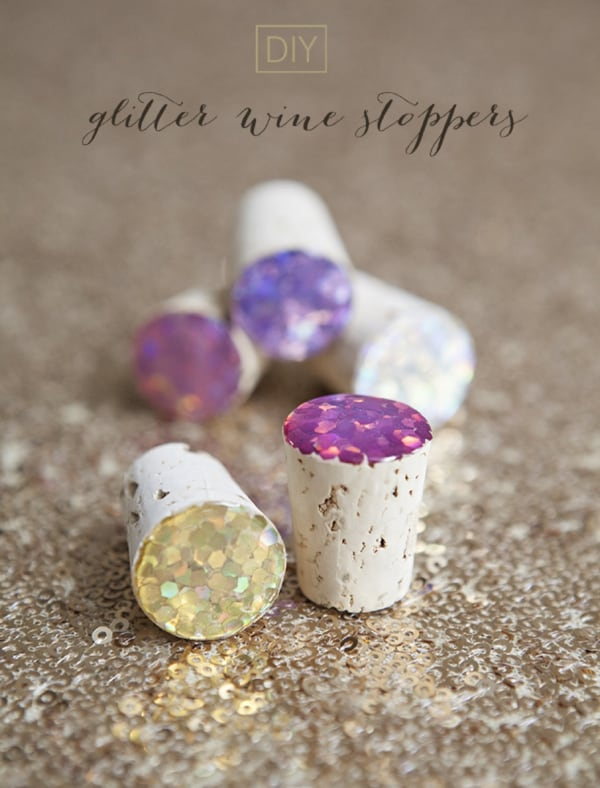 Glitter Wine Stoppers