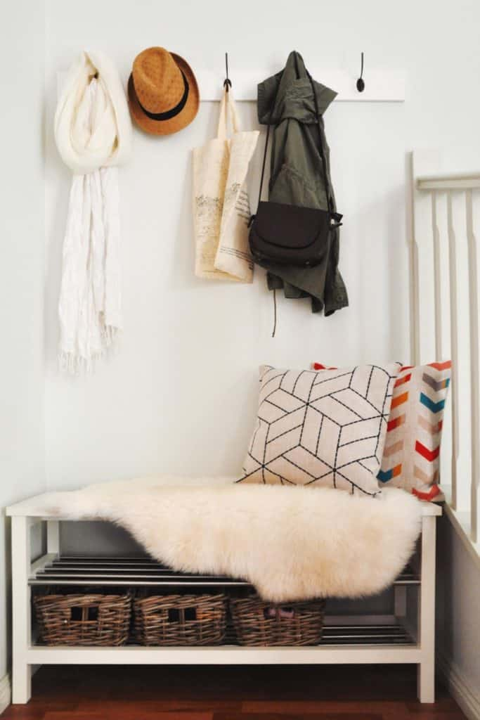 DIY Woodwork Coat Hanger